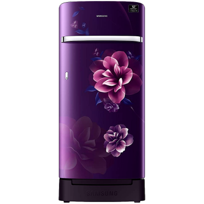 Samsung 198 L 3 Star Inverter Direct-Cool Single Door Refrigerator (RR21T2H2YCR / HL,Camellia Purple)