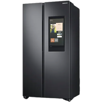 Picture of Samsung 673L Curd Maestro Family Hub Side By Side Refrigerator RS72A5FC1B4
