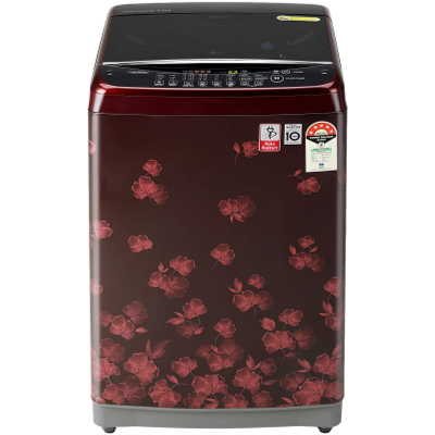 LG 7 kg 5 Star Rating Jet Spray Fully Automatic Top Load Red (T70SJDR1Z)