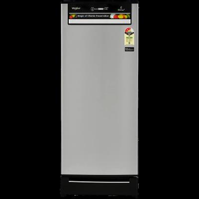 Whirlpool 200 L Direct Cool Single Door 3 Star Refrigerator with Base Drawer (Alpha Steel, 215 VITAMAGIC PRO ROY 3S)