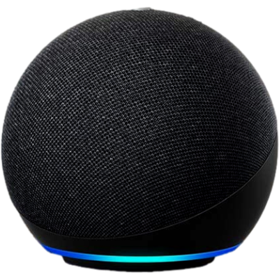 Picture of All-new Echo Dot (4th Gen) with Alexa | Next generation smart speaker with improved bass (Black)
