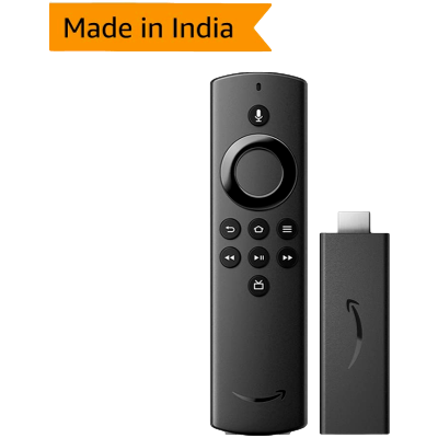 Amazon Fire TV Stick with Alexa Voice Remote | Streaming Media Player