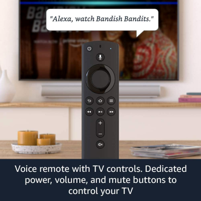 Picture of Fire TV Stick (3rd Gen) with Alexa Voice Remote (includes TV controls) | HD streaming device | 2021 release