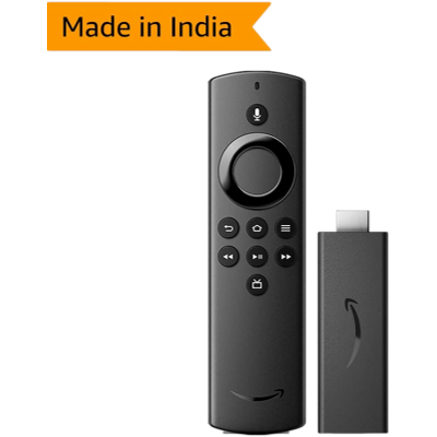 Amazon Fire TV Stick (3rd Gen) with Alexa Voice Remote (includes TV controls) | HD streaming device