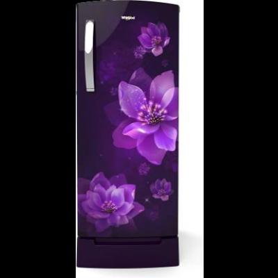 Whirlpool 200 L Direct Cool Single Door 4 Star Refrigerator (Purple Flume, 215 IMPRO Roy 4S Inv Purple Flume (71891))