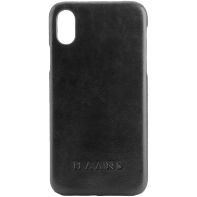 HAANS Leather Case iPhone XS Black 2500004