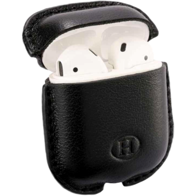 Picture of HAANS Leather Airpod Full Case Black 2500013
