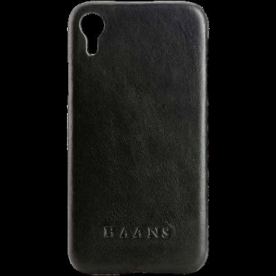 HAANS Leather Case iPhone XR Black 2500009
