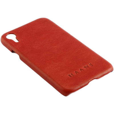Picture of HAANS Leather Case iPhone XR Red 2500010