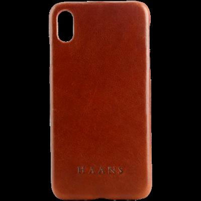 HAANS Leather Case iPhone XS Max Bordo 2500006