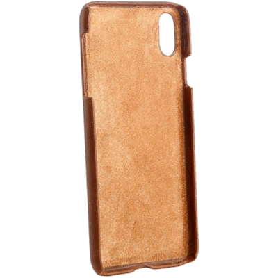 Picture of HAANS Leather Case iPhone XS Max Brown 2500002