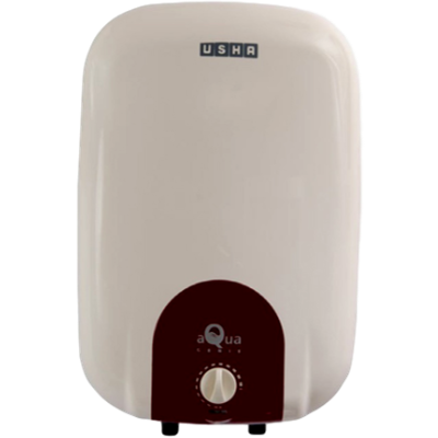 Usha 10 L Storage Water Geyser (Aquagenie-10, Ivory Wine)