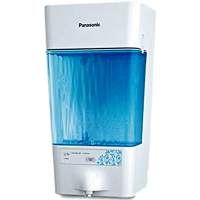 Panasonic TK CS80- DA RO + UV Water Purifier-White and Blue