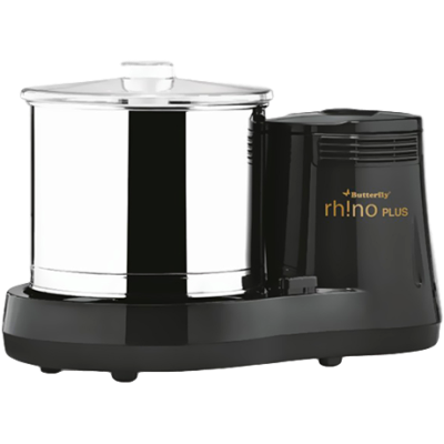 Butterfly Rhino Plus 2 L Wet Grinder (Grey)