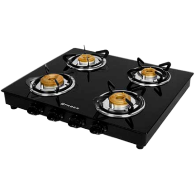 Picture of FABER Grand 4BB Steel Gas Stove (4 Burners)