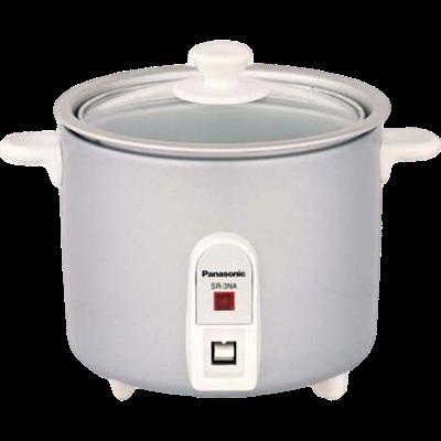 Panasonic SR-3NA Rice Cooker (0.5 L, White)