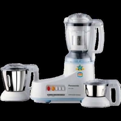 Panasonic MX-AC350 550 W Mixer Grinder (White, 3 Jars)