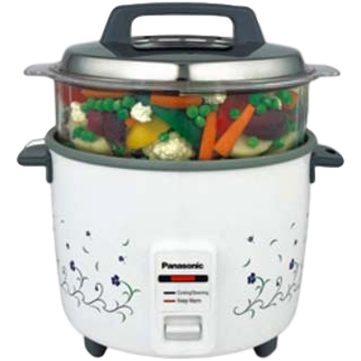 Picture of Panasonic SR WA 18 FHS Electrical Rice Cooker (1.8 L, White)