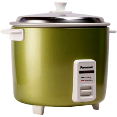 Panasonic SR WA 22H (AT) Rice Cooker (2.2 L, Green)