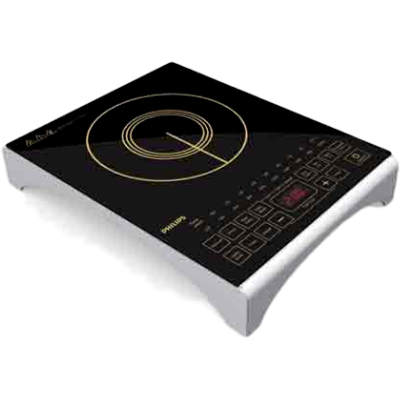 Picture of Philips HD4938/01 Induction Cooktop (Black,Touch Panel)