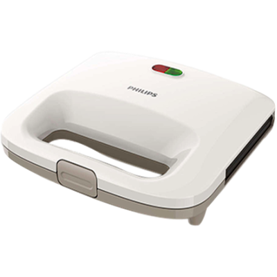 Philips HD 2393 Sandwich Maker (White and Beige)