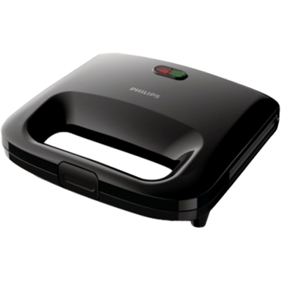 Philips HD 2394 Sandwich Maker (Black)