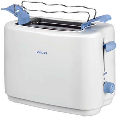 Philips HD4823/01 Pop Up Toaster (White and Blue)