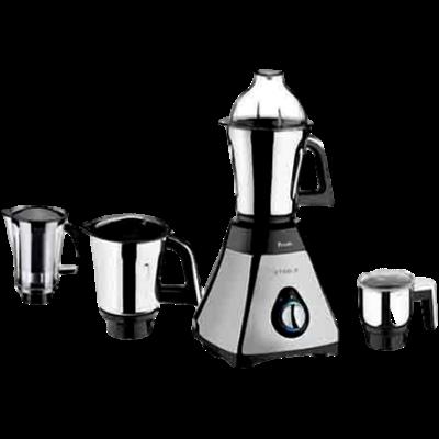 Preethi Steel Supreme Mixer Grinder (Silver, 4 Jars)