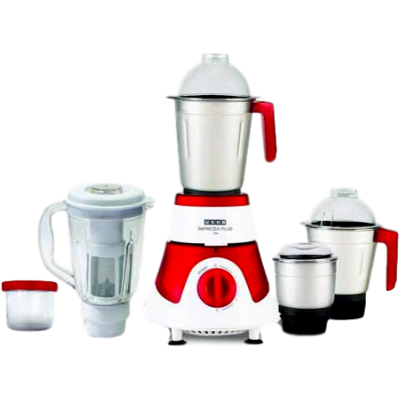 Usha Imprezza Plus 3775 750 W Mixer Grinder (Red, 5 Jars)
