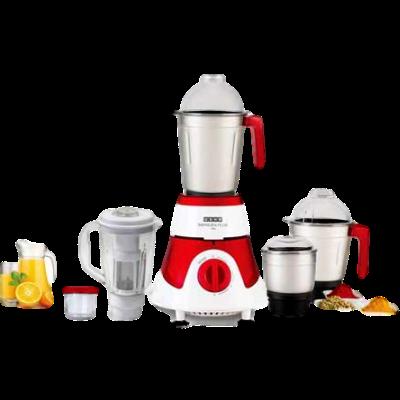 Picture of Usha Imprezza Plus 3775 750 W Mixer Grinder (Red, 5 Jars)