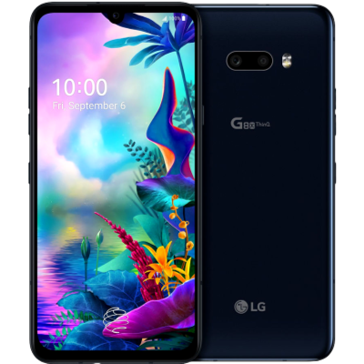 Picture of LG Mobile LMG850EMW G8 X Black