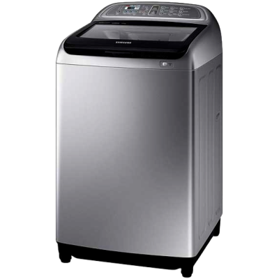 Picture of Samsung 9 kg Fully Automatic Top Load Silver and Black (90J5730SS)