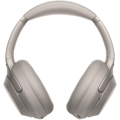 Sony WH-1000XM3 Wireless Noise Cancelling Headphones, Bluetooth headset (Silver, Wireless)