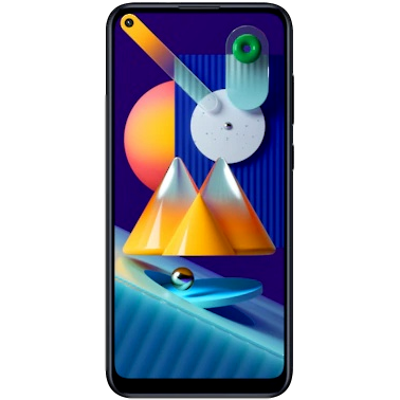 Samsung Mobile Galaxy M115 (4 GB/64 GB) Black