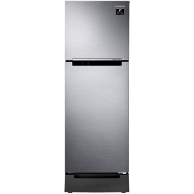 Samsung 253 L 2 star Double Door Refrigerator (RT28T3122S9, Refined Inox)