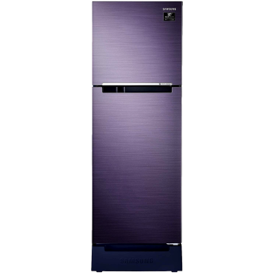 Samsung 253 L 2 star Double Door Refrigerator (RT28T3122UT, Pebble Blue)