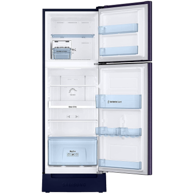 Picture of Samsung 253 L 2 star Double Door Refrigerator (RT28T3122UT, Pebble Blue)
