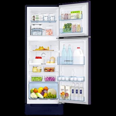Picture of Samsung 253 L 2 star Double Door Refrigerator (RT28T3122UT, Pebble Blue)