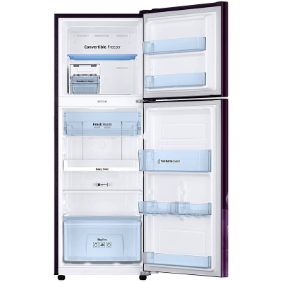 Picture of Samsung 253 L 3 star Double Door Refrigerator (RT28T3953CR, Camellia Purple)