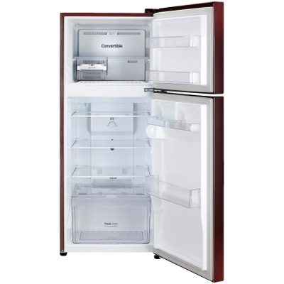 Picture of LG 260 L 2 Star Double Door Refrigerator (S292DSDY, Scarlet Dazzle)