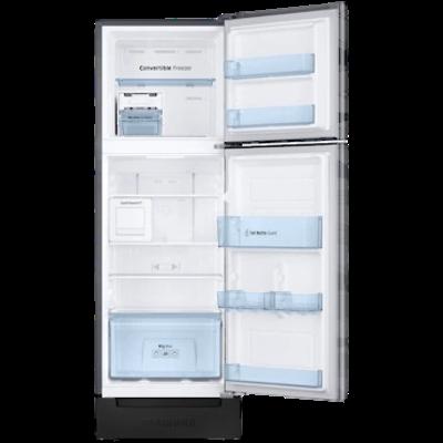 Picture of Samsung 244 L 3 star Double Door Refrigerator (RT28T3C23NV, Wave Steel)