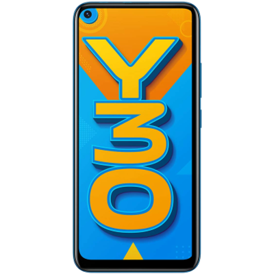 Vivo Mobile Y30 (4 GB/128 GB) Dazzle Blue