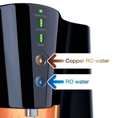 Picture of Pureit Copper+ Eco Mineral RO + UV + MF Water Purifier