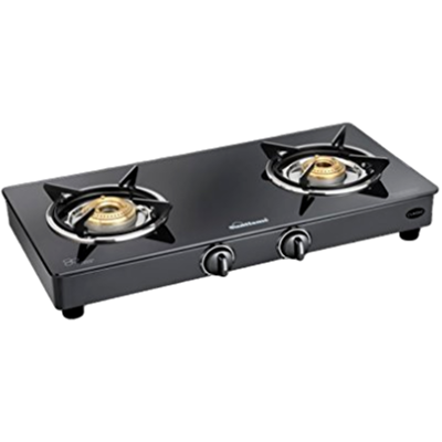 Sunflame Cooktop Prime 2B BK Gas Stove