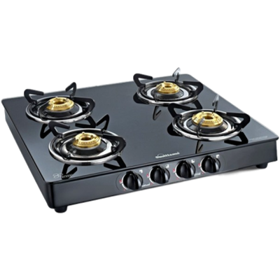 Sunflame Cooktop Prime 4B XL BK Gas Stove