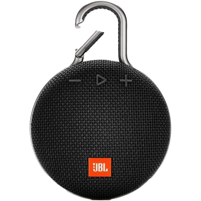 JBL Bluetooth Speaker Clip 3 - Black