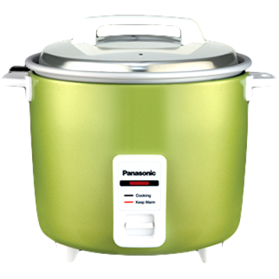 Panasonic SR-WA22H (BBW) Electric Rice Cooker (2.2 L)
