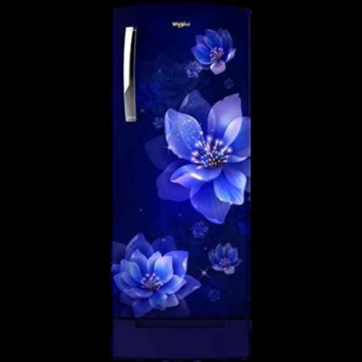Whirlpool 215 L 3 Star Direct-Cool Single Door Refrigerator (230 ICEMAGIC PRO PRM 3S, Sapphire Mulia) 71854
