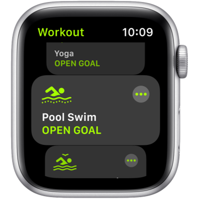 Picture of APPLE Watch SE GPS 44 mm Silver Aluminium Case with White Sport Band(White Strap, Regular)